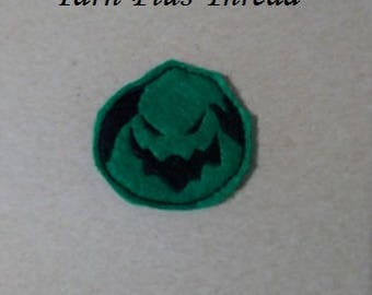 Green Guy Feltie Embroidery Design