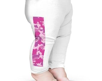 Baby Leggings Pink Camouflage Baby Leggings Pants