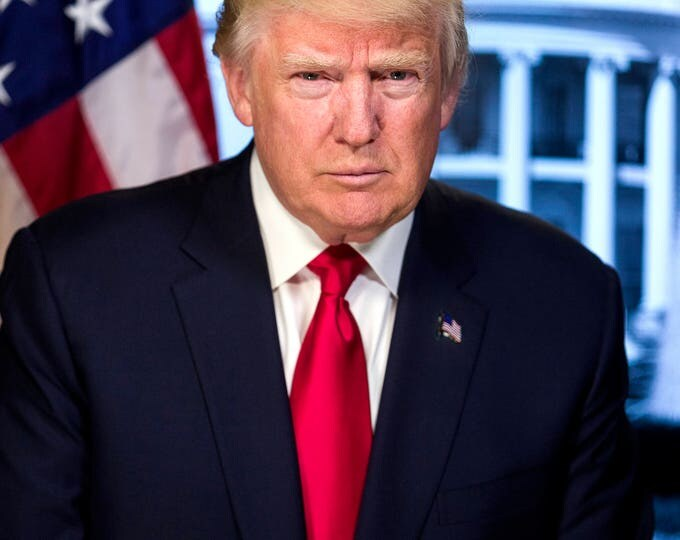 Donald J. Trump 45th President of the United States - 5X7, 8X10 or 11X14 Photo (ZY-736)