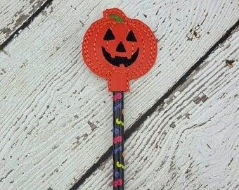 Summer Sale Pumpkin Pencil Topper
