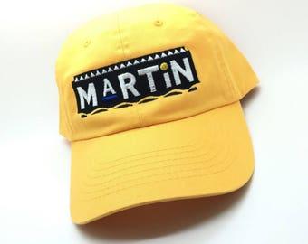 Yellow Martin Dad Cap Hat