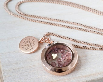 Personalised 'Heart of Gold' Necklace