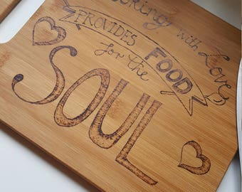 Lovely hand decorated chopping board