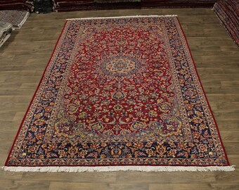 Stunning S Antique Traditional Najafabad Persian Area Rug Oriental Carpet 8X12