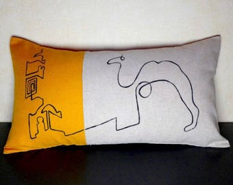 Cover cushion 50 x 28 cm. Picasso and Koutoubia