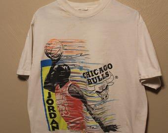 Vintage Michael Jordan Bulls shirt // Vintage 90s Michael Jordan shirt // 90s Michael Jordan shirt // 90s Chicago Bulls shirt // jordan //