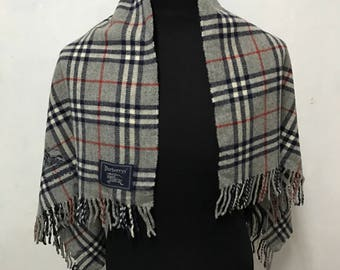 Vtg burberry of london prorsum scarf mafla