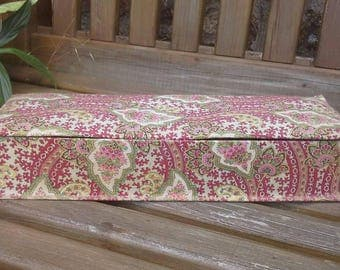 French fabric covered box paisley