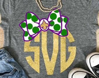 mardi gras svg, mardi gras shirt, Monogram svg, spring svg, mardis gras svg, girly svg, SVG, dxf, EPS, printable iron on,transfer,  cute svg