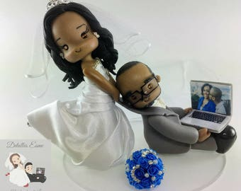 cake topper for wedding, cake topper, wedding topper, wedding, bride and groom, handmade wedding topper, cute topper