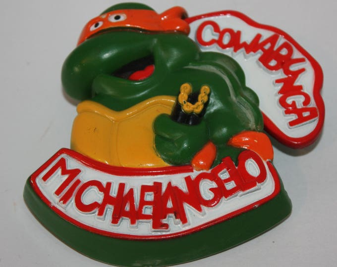 Teenage Mutant Ninja Turtles TMNT Michaelangelo 1989 Burger King Toy