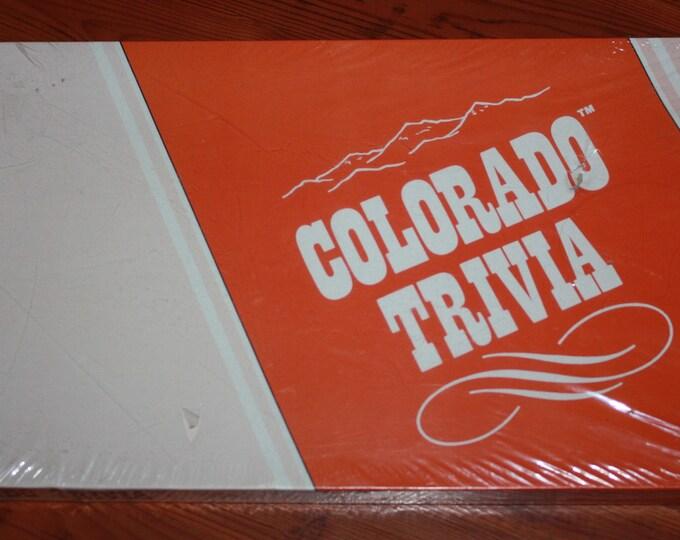 Colorado Trivia Vintage Board Game H/D Enterprises 1984 SEALED