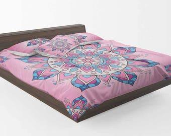 Boho Duvet Cover, Mandala Duvet Cover, Hippie Duvet Cover, Bohemian Duvet Cover, Mandala Bedding, Hippie Bedding, Bohemian Bedding,