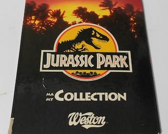 Jurassic park - Binder and card set
