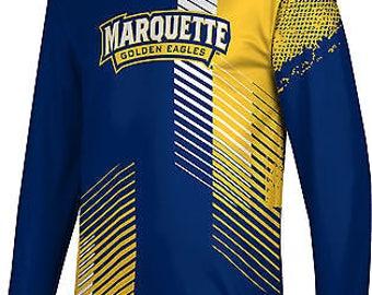 ProSphere Men's Marquette University Hustle Long Sleeve Tee (MU)