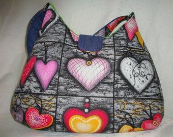 "Handbag ""Hearts"""