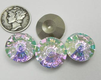 Swarovski 1681  Misty Violet F 16mm Vision Stones (1 pieces)