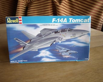 F-14A Tomcat Jet Airplane Model by Revell 1:100 Scale  #4066