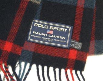 Ralph Lauren vintage pure lambeswool  scarf