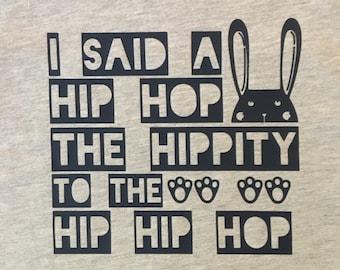 HIPPITY HOP- hip hop bunny