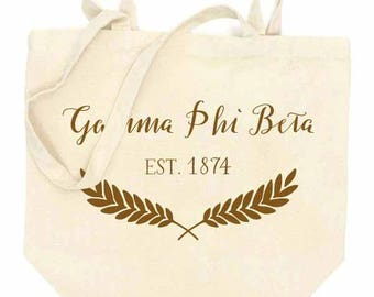GAMMA PHI BETA Tote Bag