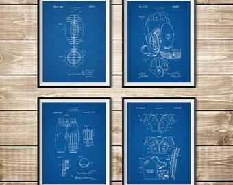 Super Bowl Print, Patent Print Group, Football Coach Art, Shoulder Pads, Super Bowl Art, Football Ball Art,Gridiron Poster, INSTANT DOWNLOAD
