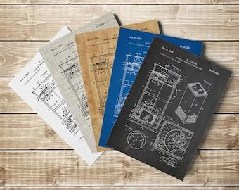 Leslie Speaker, Leslie Poster, Organ, Organ Blueprint, Hammond B3 Organ, Hammond, Music Room Wall Art, Musician Art Gift, INSTANT DOWNLOAD