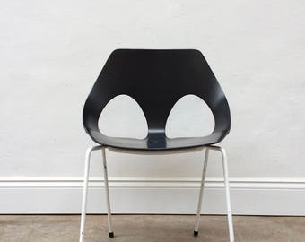 Vintage Jason Plywood Chair by Frank Guille for Kandya. Carl Jacobs. Retro Danish