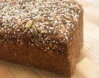 Gluten-Free Seeded Pullman Loaf