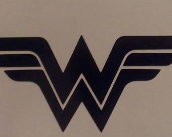 Wonder Woman inspired Vinyl Sticker