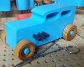 Wooden Toy Car - 1932 Ford Sedan Hot Rod