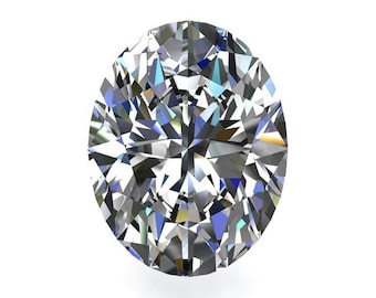 Loose Colorless Moissanite Oval - Celestial Premier Moissanite - Colorless Moissanite