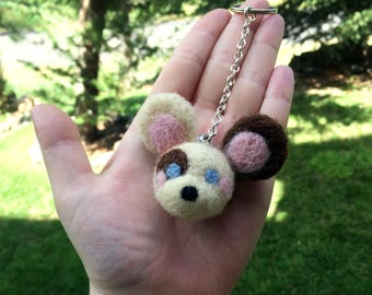 Zoey The Mouse Keychain