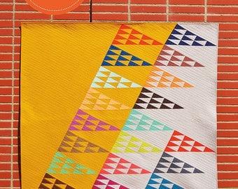 Buzzed Birds Quilt Pattern, from Latifah Saafir