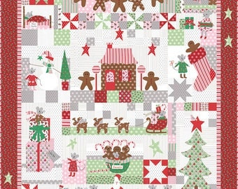 The Christmas Mouse - BOM/10 Mos - BHD 2117 - Bunny Hill Designs - quilt pattern