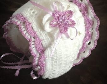 Baby Bonnet Crochet hat