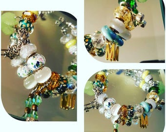 Personalized Charm Bracelet, We do large orders , Charm Bracelet, Bracelet