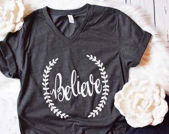 IVF Believe Shirt - IVF, ivf shirt, infertility, ivf t shirt, infertility shirt, ttc, iui, pregnancy shirt, maternity, ivf t shirts