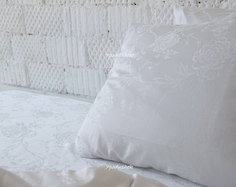 White romantic soft and comfortable bedding gift for the newlyweds wedding gift for couple