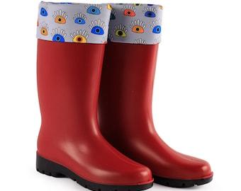 BiggDesignMy Eyes are on You Rain Boots