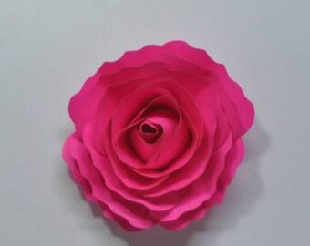 DIY flower kit  cardstock  flower kit  5 mini flower fireball fiusha