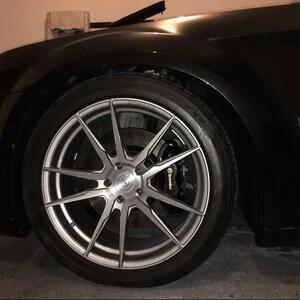 Pc BMW M Power Brake Caliper Vinyl Sticker Decal Logo Wrap M - Bmw brake caliper decals