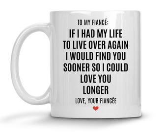 Fiance Gift For Him - Valentines Day Gift For Fiance - Fiance Mug - Funny Fiance Gift - Fiance Birthday Gift - Fiance Coffee Mug - Fiance