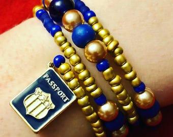 Passport Bracelet