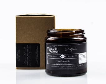 Wildfire Wood Wick Scented Soy Wax Candle