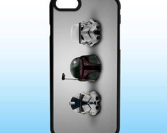 Star Wars Helmets Iphone Case, Iphone 5, 6, 7, 8, X