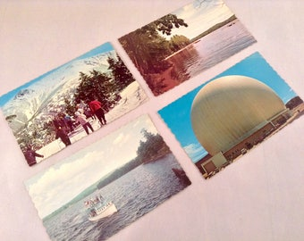 Vintage Maine New England Travel Postcards