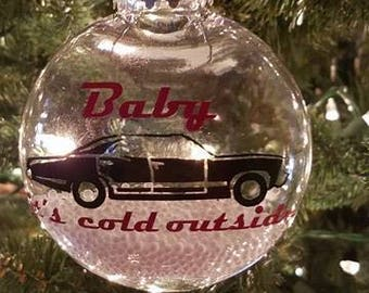 Supernatural Baby It's Cold Ornament