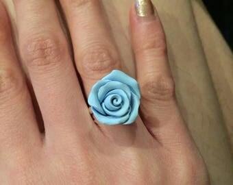 Rose adjustable rings
