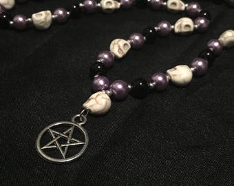 Pagan Prayer Beads - Hel Prayer Beads